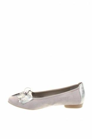 Дамски обувки Jenny, Размер 40, Цвят Сив, Еко кожа, текстил, Цена 44,25лв.