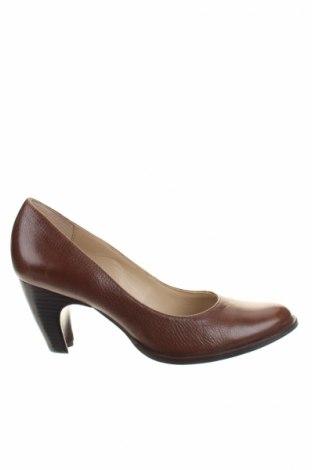 Дамски обувки San Marina, Размер 37, Цвят Кафяв, Естествена кожа, Цена 68,67лв.