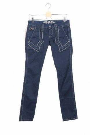 Γυναικείο παντελόνι Bandits Du Monde, Μέγεθος S, Χρώμα Μπλέ, 97% βαμβάκι, 3% ελαστάνη, Τιμή 15,92€