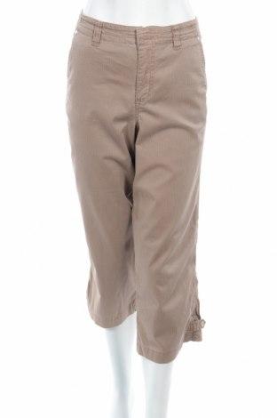 Дамски панталон Gloria Vanderbilt, Размер M, Цвят Бежов, 97% памук, 3% еластан, Цена 10,56лв.