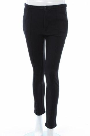 Γυναικείο παντελόνι Mango, Μέγεθος M, Χρώμα Μαύρο, 79% βαμβάκι, 18% πολυαμίδη, 3% ελαστάνη, Τιμή 9,59€