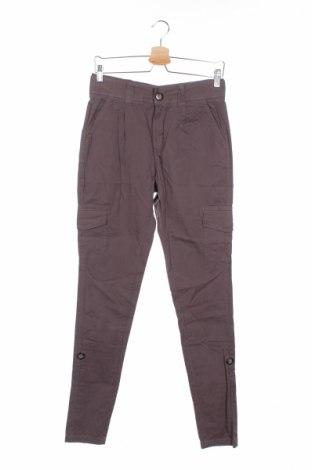 Дамски панталон Miss Sixty, Размер S, Цвят Сив, Памук, Цена 19,76лв.