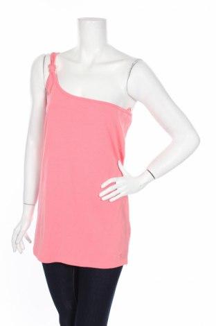 Γυναικείο αμάνικο μπλουζάκι Tom Tailor, Μέγεθος XL, Χρώμα Ρόζ , 95% βαμβάκι, 5% ελαστάνη, Τιμή 7,71€