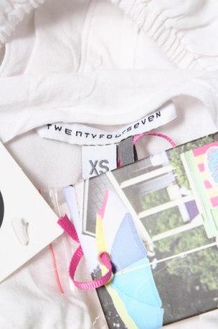 Дамски потник Twentyfourseven, Размер XS, Цвят Бял, Вискоза, Цена 6,16лв.