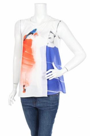 Γυναικείο αμάνικο μπλουζάκι Zara