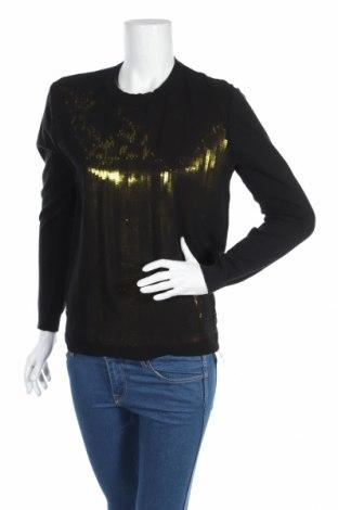 Дамски пуловер, Размер L, Цвят Черен, Цена 11,27лв.