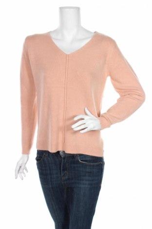 Дамски пуловер B.Young, Размер XS, Цвят Оранжев, Акрил, Цена 11,04лв.