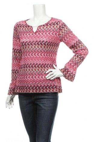 Дамски пуловер Comma,, Размер M, Цвят Многоцветен, 44% памук, 44% полиестер, 6% метални нишки, 6% вискоза, Цена 20,47лв.