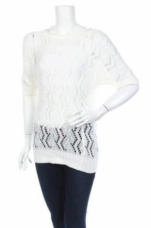 Дамски пуловер Delia*s, Размер XS, Цвят Бял, Акрил, Цена 5,52лв.
