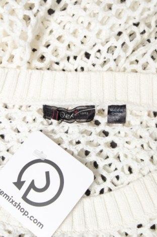 Γυναικείο πουλόβερ Dex, Μέγεθος S, Χρώμα Εκρού, Βαμβάκι, Τιμή 4,46€