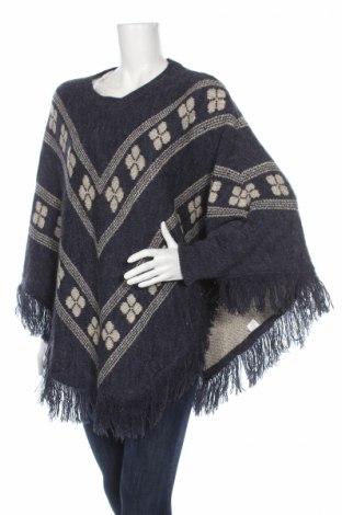 Γυναικείο πουλόβερ E&d, Μέγεθος M, Χρώμα Μπλέ, 60%ακρυλικό, 20% βισκόζη, 10% μαλλί, 10% ελαστάνη, Τιμή 20,29€
