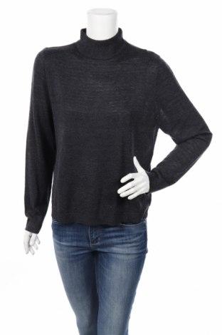 Дамски пуловер Edited, Размер L, Цвят Сив, 60% вискоза, 25% полиамид, 15% вълна, Цена 18,00лв.