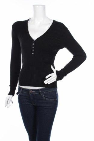 Дамски пуловер Edited, Размер S, Цвят Черен, 52% вискоза, 36% памук, 12% еластан, Цена 16,56лв.