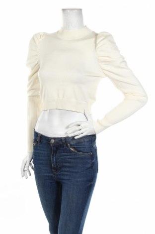 Дамски пуловер Glamorous, Размер M, Цвят Екрю, 80% вискоза, 20% полиамид, Цена 15,18лв.