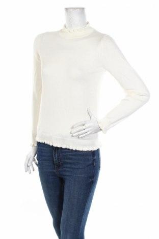 Дамски пуловер Heine, Размер XS, Цвят Бял, 60% вискоза, 40% памук, Цена 15,87лв.