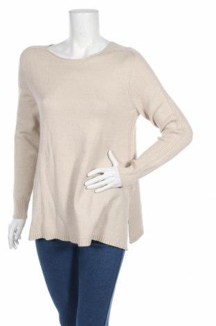 Дамски пуловер Heine, Размер M, Цвят Бежов, 52% вискоза, 26% полиестер, 22% полиамид, Цена 11,27лв.
