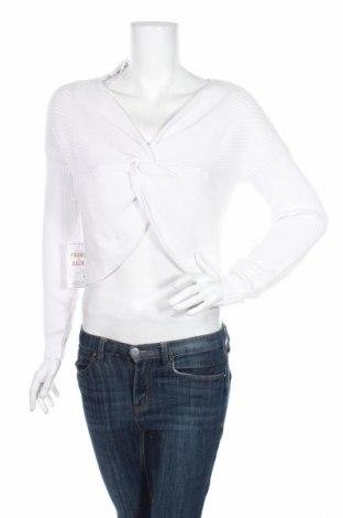 Дамски пуловер Hollister, Размер XS, Цвят Бял, 60% памук, 20% полиамид, 20% вискоза, Цена 18,17лв.