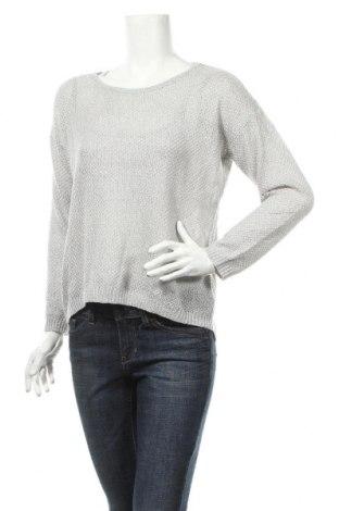 Γυναικείο πουλόβερ Mimiz, Μέγεθος M, Χρώμα Γκρί, 15% βαμβάκι, 25% μοντάλ, 45% βισκόζη, 15% πολυαμίδη, Τιμή 3,25€