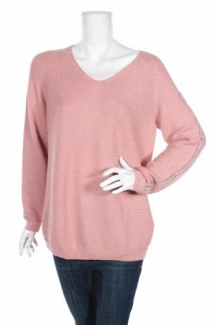 Дамски пуловер Monari, Размер M, Цвят Розов, 50% памук, 50% акрил, Цена 16,80лв.