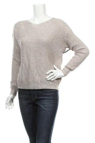 Дамски пуловер Nly Trend, Размер S, Цвят Бежов, 50% акрил, 50% памук, Цена 13,57лв.