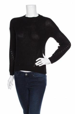 Дамски пуловер Noisy May, Размер XS, Цвят Черен, 50% акрил, 50% памук, Цена 13,34лв.