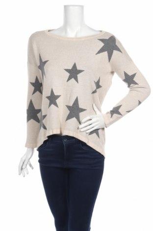 Дамски пуловер Only, Размер M, Цвят Бежов, 60% вискоза, 40% памук, Цена 13,57лв.
