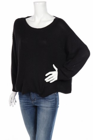 Дамски пуловер Only, Размер M, Цвят Черен, 50% акрил, 50% памук, Цена 11,27лв.
