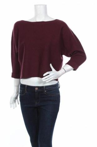 Дамски пуловер Only, Размер M, Цвят Червен, 50% вискоза, 26% полиамид, 24% полиестер, Цена 13,57лв.