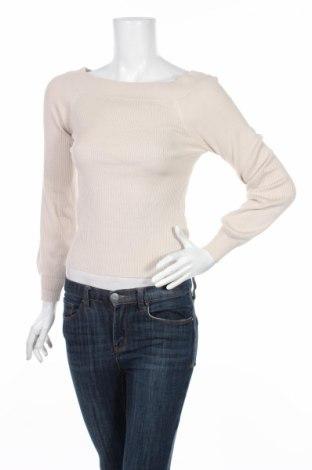 Дамски пуловер Only, Размер M, Цвят Бежов, 80% вискоза, 20% полиамид, Цена 11,27лв.