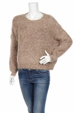 Дамски пуловер Only, Размер M, Цвят Кафяв, 55% полиамид, 45% акрил, Цена 13,57лв.