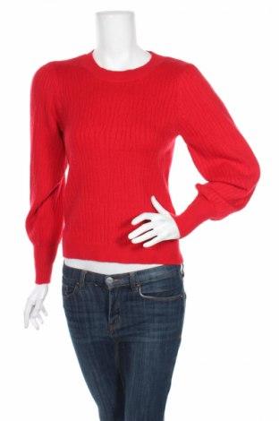 Дамски пуловер Selected Femme, Размер XS, Цвят Червен, 52% вискоза, 28% полиестер, 20% полиамид, Цена 18,17лв.