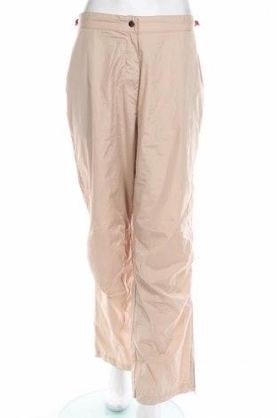 Дамски спортен панталон, Размер XL, Цвят Бежов, Полиестер, Цена 5,25лв.