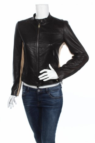 Damska kurtka skórzana DKNY