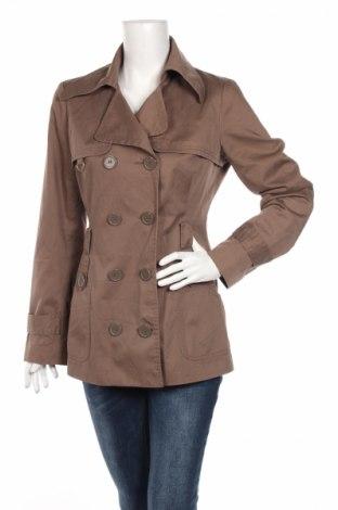 Dámský kabát  Vero Moda, Rozměr M, Barva Hnědá, 65% polyester, 35% bavlna, Cena  262,00Kč