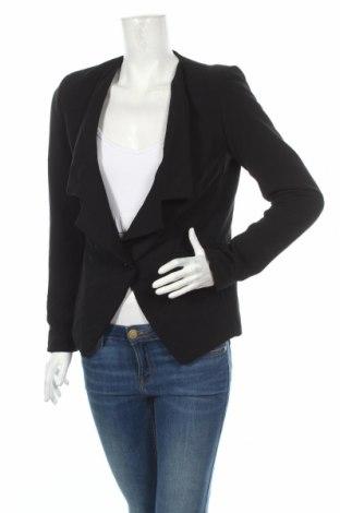 Γυναικείο σακάκι Amelie & Amelie, Μέγεθος M, Χρώμα Μαύρο, 92% πολυεστέρας, 8% ελαστάνη, Τιμή 5,10€