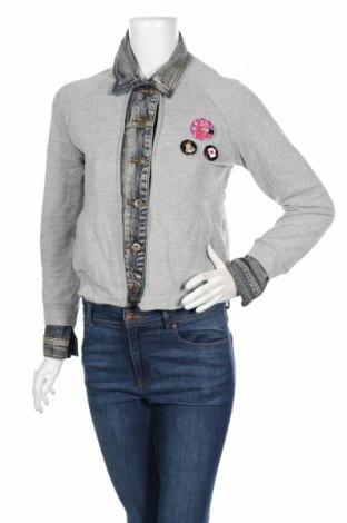 Γυναικείο μπουφάν Amelie & Amelie, Μέγεθος S, Χρώμα Γκρί, 95% βαμβάκι, 5% ελαστάνη, Τιμή 5,72€