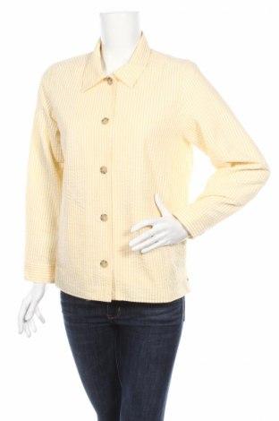 Дамско яке The Tog Shop, Размер M, Цвят Жълт, 55% памук, 45% полиестер, Цена 3,40лв.