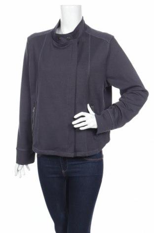 Дамско яке Ulla Popken, Размер XL, Цвят Сив, 71% полиестер, 23% вискоза, 6% еластан, Цена 88,40лв.
