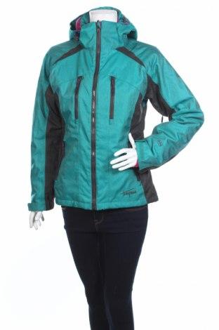Дамско яке за зимни спортове Trespass, Размер S, Цвят Зелен, Полиестер, Цена 92,95лв.