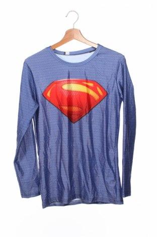 Детска блуза, Размер 14-15y/ 168-170 см, Цвят Син, Полиестер, Цена 4,00лв.