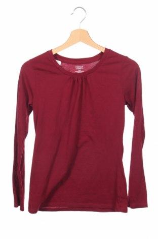 Детска блуза French Toast, Размер 15-18y/ 170-176 см, Цвят Червен, 65% полиестер, 35% памук, Цена 3,50лв.