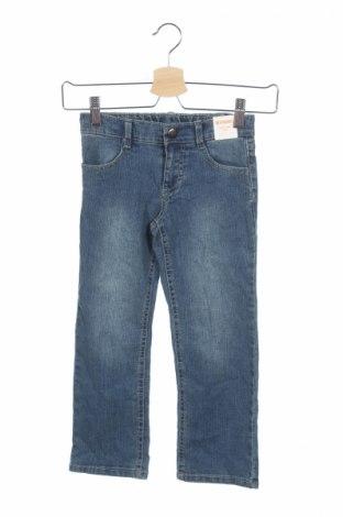 Детски дънки Gymboree, Размер 4-5y/ 110-116 см, Цвят Син, 66% рамия, 19% памук, 14% полиестер, 1% еластан, Цена 11,70лв.