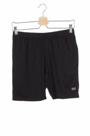 Pantaloni scurți de copii Cona, Mărime 15-18y/ 170-176 cm, Culoare Negru, 90% poliamidă, 10% elastan, Preț 27,36 Lei