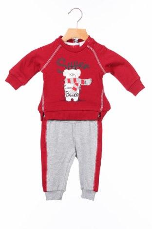 Dětský komplet  I Do By Miniconf, Rozměr 2-3m/ 56-62 cm, Barva Červená, 80% bavlna, 20% polyester, Cena  681,00Kč