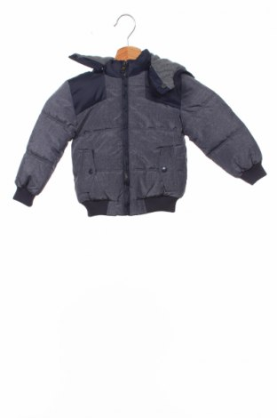 Детско яке Fagottino By Oviesse, Размер 18-24m/ 86-98 см, Цвят Син, 65% полиамид, 35% полиестер, Цена 55,20лв.