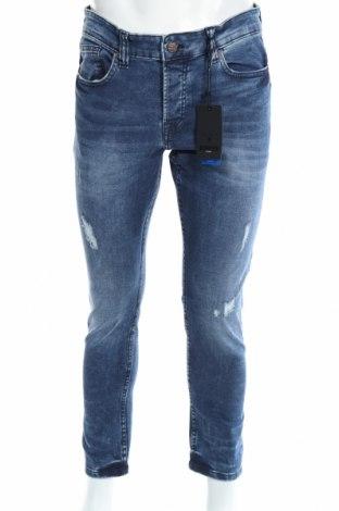 Мъжки дънки Only & Sons, Размер M, Цвят Син, 94% памук, 6% еластан, Цена 33,92лв.