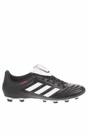 Ανδρικά παπούτσια Adidas, Μέγεθος 47, Χρώμα Μαύρο, Δερματίνη, Τιμή 16,39€