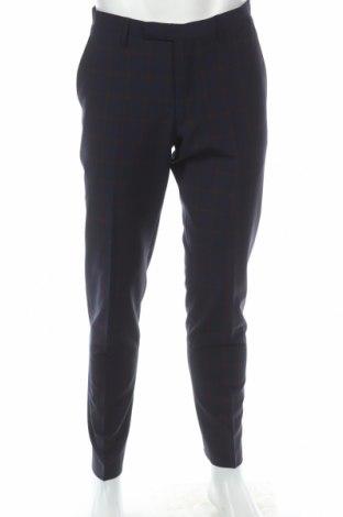 Мъжки панталон Cinque, Размер L, Цвят Син, 53% полиестер, 43% вълна, 4% еластан, Цена 28,35лв.