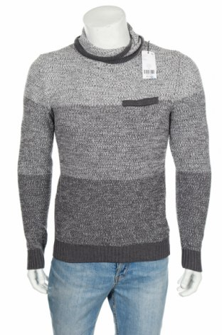 Ανδρικό πουλόβερ Devred 1902, Μέγεθος S, Χρώμα Γκρί, 50% βαμβάκι, 50%ακρυλικό, Τιμή 35,57€