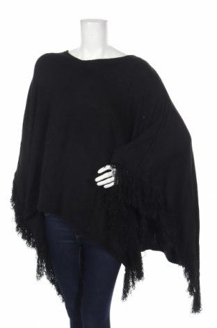 Πόντσο Accessoires, Μέγεθος M, Χρώμα Μαύρο, Ακρυλικό, Τιμή 13,92€